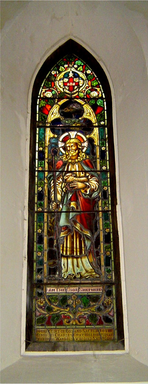 Stained Glass Window in Chancel